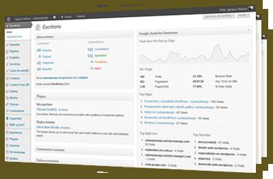 Desarrollo de sitios completos en WordPress